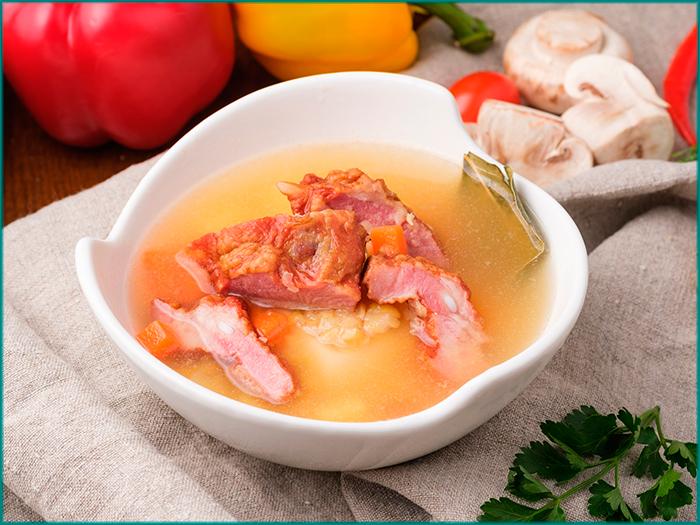 Гороховый суп по-польски